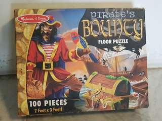 100 piece pre-loved jigsaw puzzle