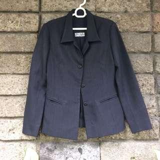 Office blazer navy blue