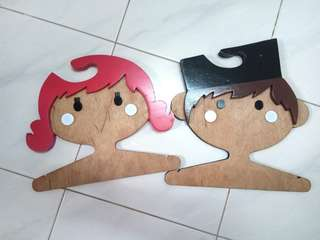 Kids Hanger Boy & Girl