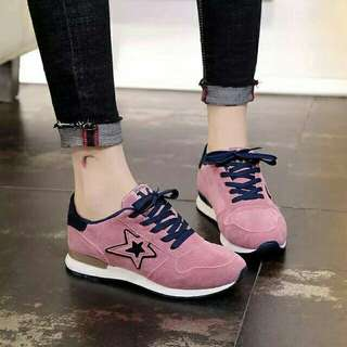 Suede Star Rubber Shoes