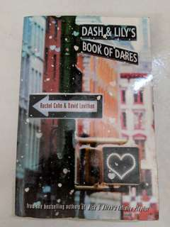 Dash and Lily's book of dares by Levithan