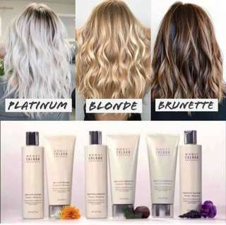COLOUR ENHANCER SHAMPOO AND CONDITIONER