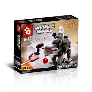 SY™ 1005D Star Wars First Order Walker Microfighters
