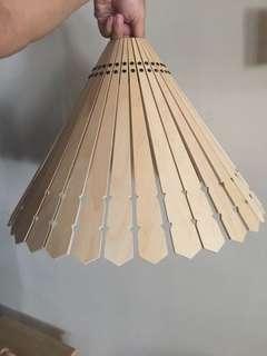 🚚 IKEA 宜家 燈罩 木頭 個性 日式