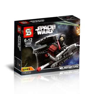 SY™ 1005F Star Wars TIE Silencer Microfighters