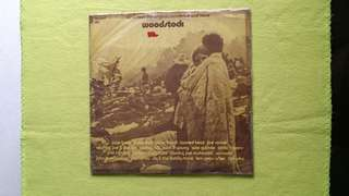WOODSTOCK . music from the original soundtrack and more . Vinyl record