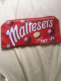 maltesers pencil case/ pouch