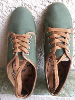 Rubber Shoes - Olive Green