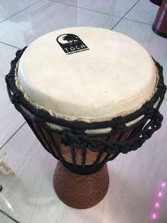 7吋鼓面 非洲鼓 Toca djembe percussion 敲擊樂