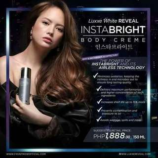 Instabright the instawhite lotion