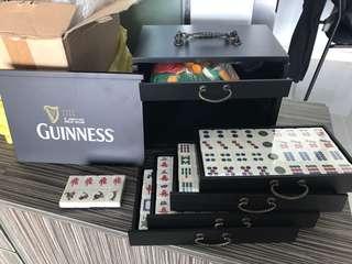 Vintage Guinness Mahjong Tiles