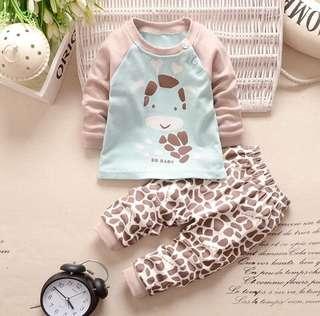 Newborn Baby Pyjamas Set Boy/Girl 0-24mo