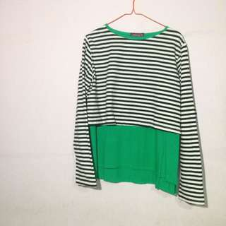 KAOS LENGAB PANJANG GARIS TWO SIDE