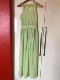 FOREVER 21 formal maxi dress