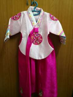 Korean traditional dress 3y