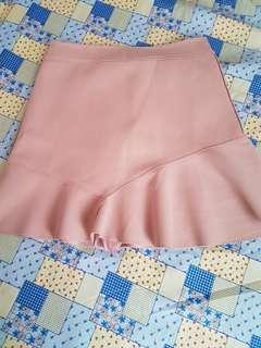 Pink highwaist doll skirt