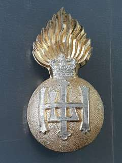 Genuine WW2 British Highkabd Fusiliers cap badge