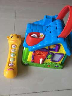 Fisher price and leapfrog toy