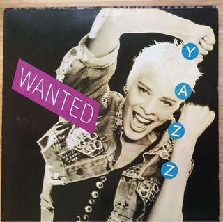 Yazz Wanted vinyl LP record 80s
