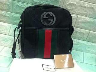 Free SF Gucci Men's Messenger Bag