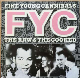 Fine Young Cannibals The Raw and The Cooked vinyl LP record 80s