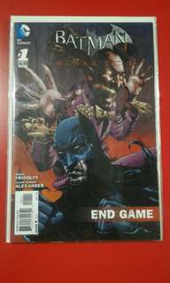 Batman Arkham City #1