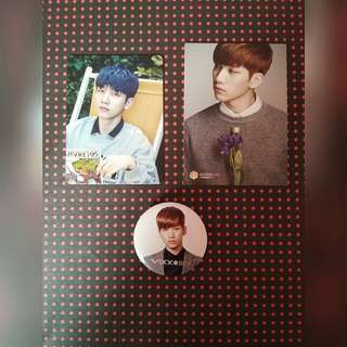 [Free pos] Official Vixx Hyuk set