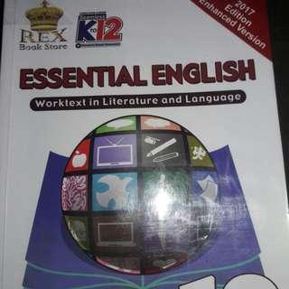 Gr.10 Essential English