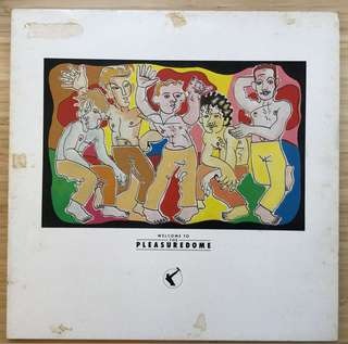 Frankie Goes to Hollywood 80s vinyl LP record