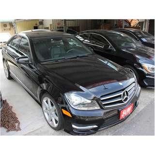 C250 四門豪華轎車 免頭款/低月付/輕鬆貸款/輕鬆貸回