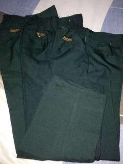 Pre loved (Green School Pants)