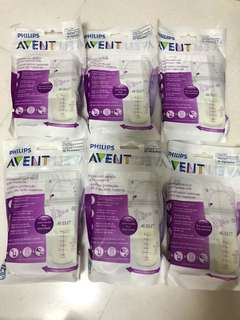 Avent Breastmilk Storage Bags - 6 packets
