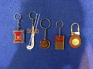 Collector's Keychains