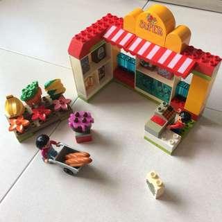 Preloved Lego Duplo 5604 Supermarket