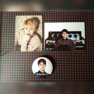 [Free pos]Official vixx ken set