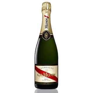 G.H. Mumm Cordon Rouge Brut Champagne 香檳
