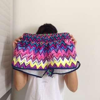 Multi-colored Board Shorts