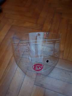Evo RS959 clear visor