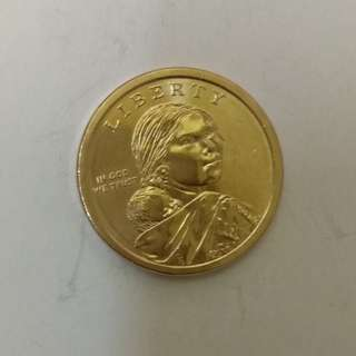 美國1美元金硬幣