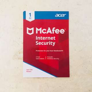 Acer McAfee Internet Security