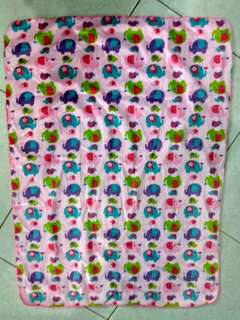 Selimut bayi double fleece
