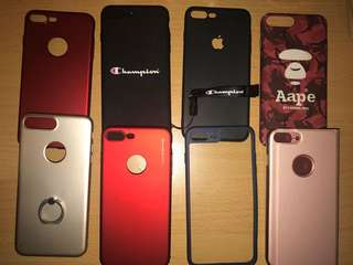 Casing Iphone 7+ (@3pcs)