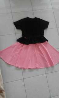 Rok pink chlorine x fauxthelabel top