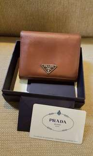 💯Authentic Prada Wallet