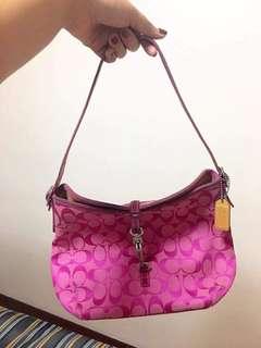 Pre loved Pink COACH Handbag