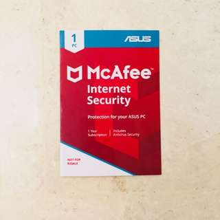 Asus McAfee Internet Security