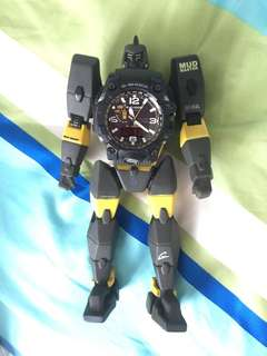 G shock mud master (limited edition) masters of G figurine