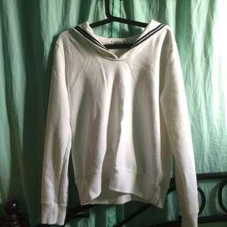 Pre-Loved Sailor/Korean Sweatshirt
