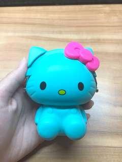 🚚 Hello Kitty 矽膠零錢包