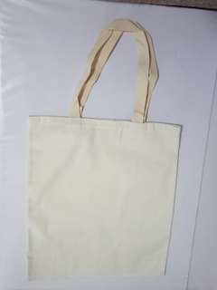 Cotton Tote Bag (Biege colour)